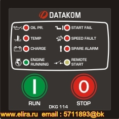 DKG-114 Manual and Remote Start Unit