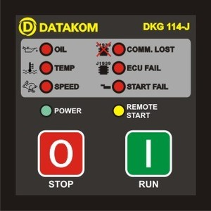 DKG-114-J manual & remote start with J1939