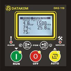 DKG-119J manual & remote start with J1939